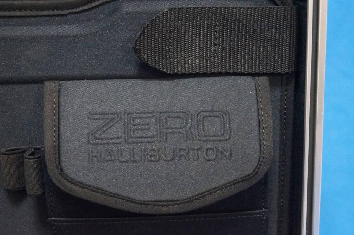 ■超美品■ZERO HALLIBURTON ゼロハリバートン アタッシュケース シルバー 薄型_画像10