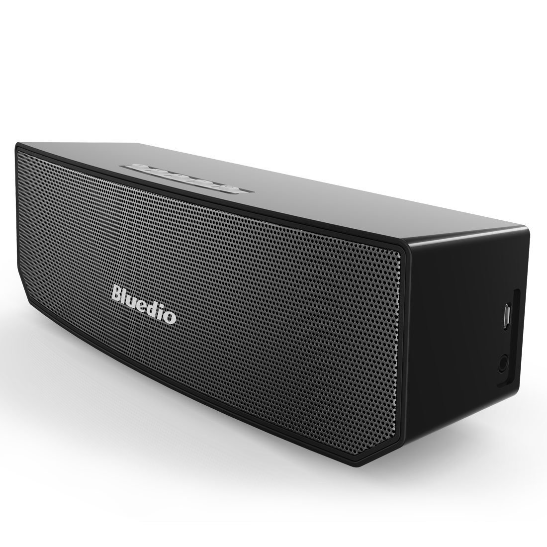 【送料無料!】Bluetooth ワイヤレススピーカー 3D ステレオnサウンド ブラック 黒