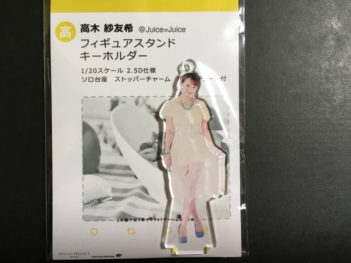8 【高木紗友希】 フィギュア juice=juice ライブグッズの画像