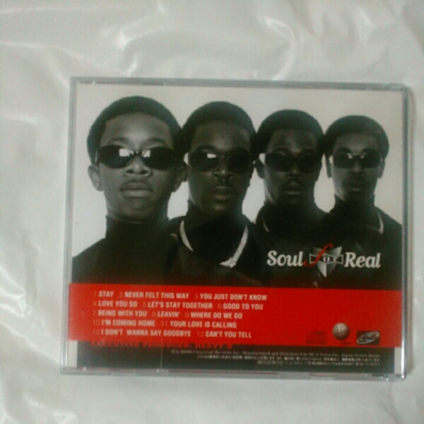 Soul for Real /FOR LIFE… 国内盤、解説・歌詞・対訳付き_画像2