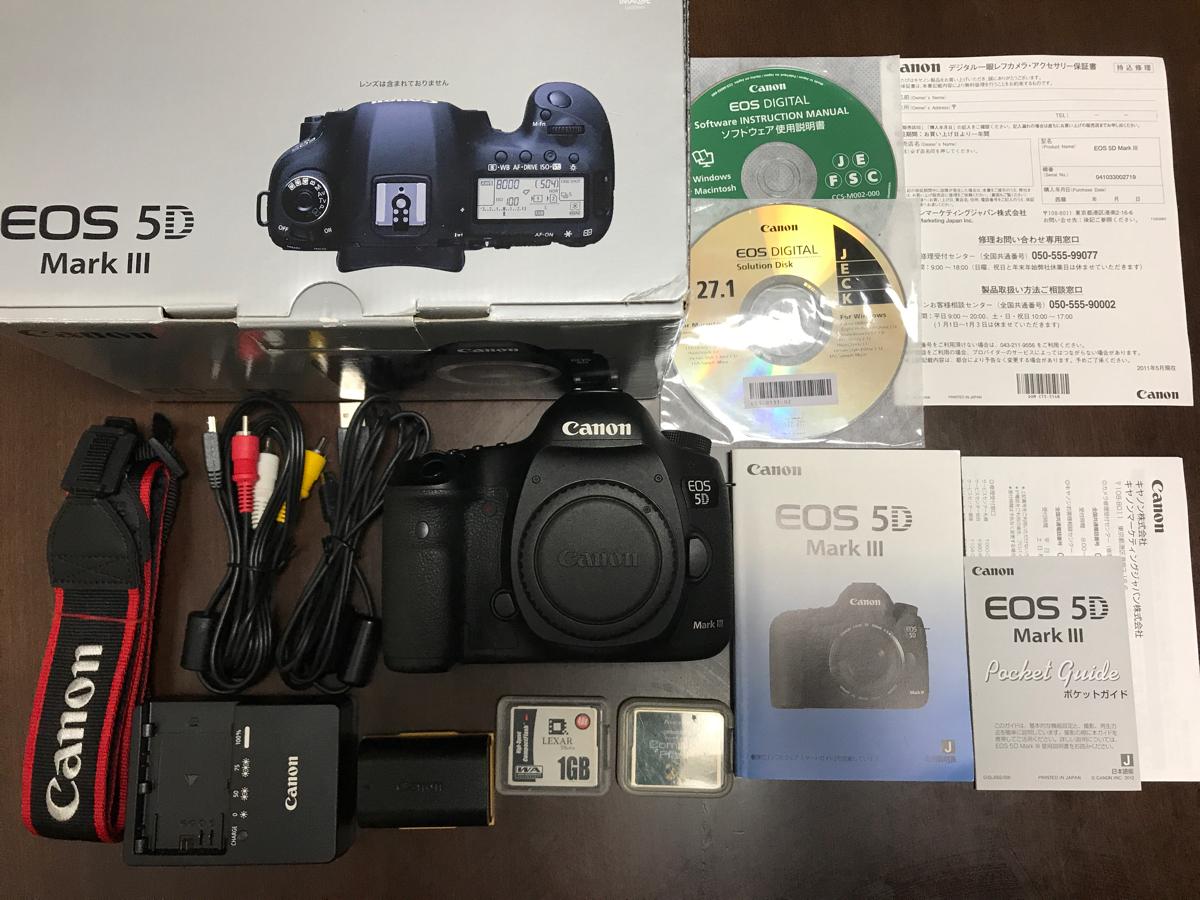 Canon キヤノン EOS 5D Mark III ボディ 中古 送料無料!