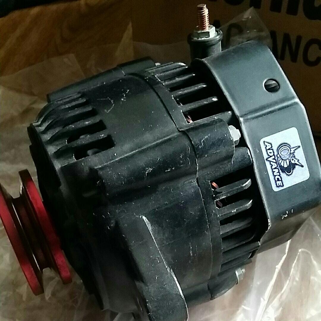 ジャンク ブラックオルタネーター 80A KB-F6A-1VA az-1 カプチーノ