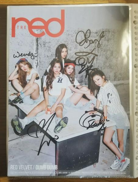 【Red Velvet】札幌雪祭りK-POP FESTIVAL会場限定配布 直筆サインポスター(A4サイズ)★アイリン・スルギ・ウェンディ・ジョイ・イェリ★