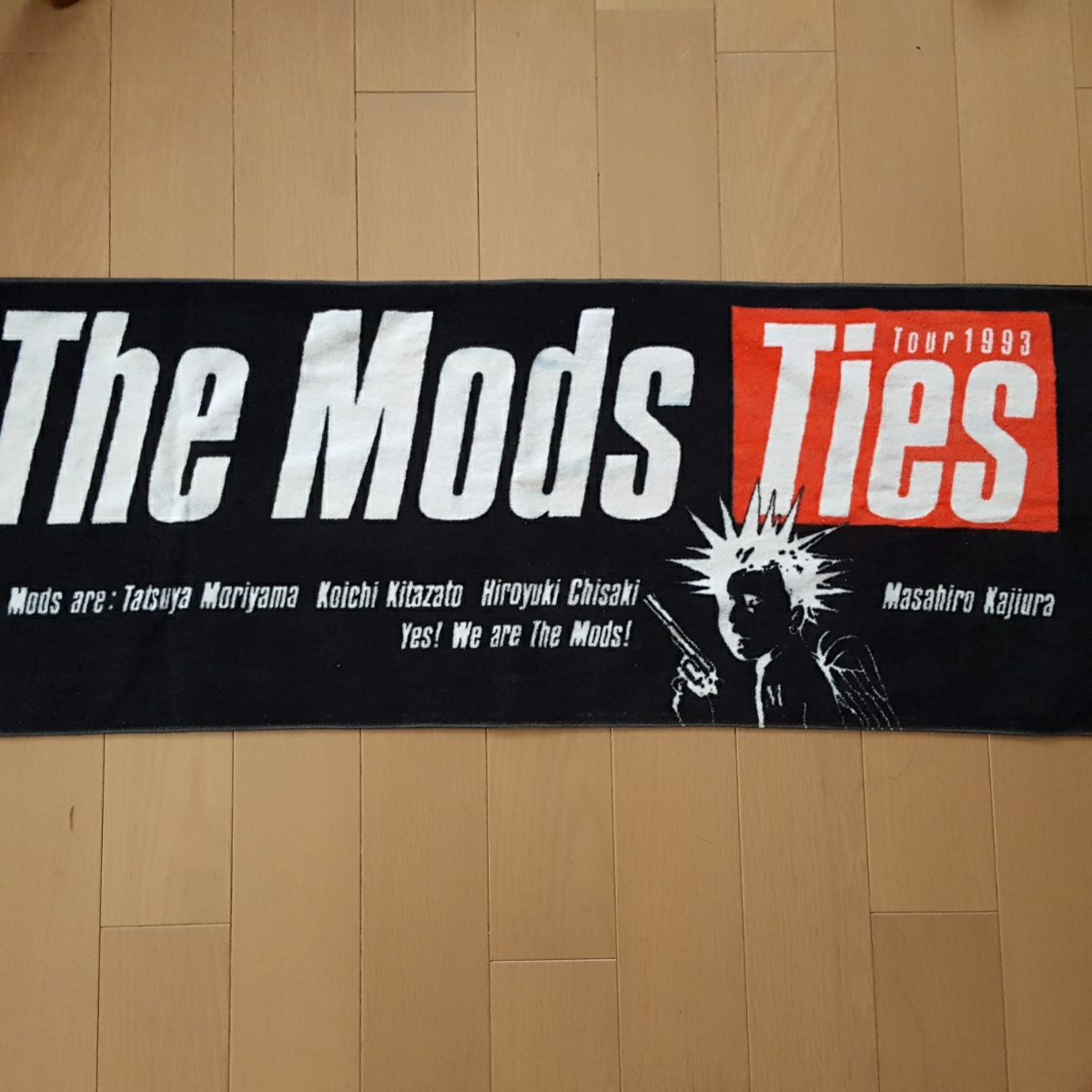 THE MODS ツアーグッズ タオル TIES ザ・モッズ 森山達也