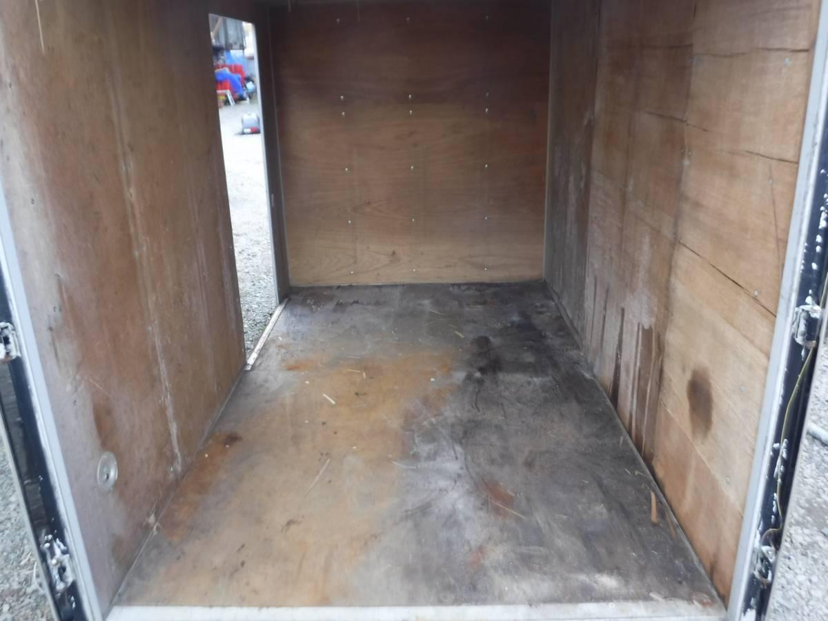 物置 小屋 2トントラック 箱車 3.3m ガレージ プレハブ サテイアン 秘密後れ 隠れ家 北海道_画像3
