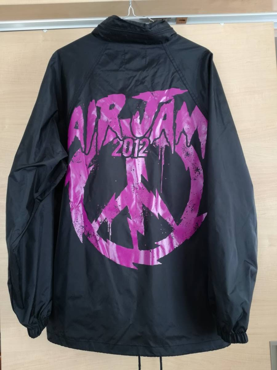 AIRJAMコーチジャケット Hi-STANDARD WANIMA PiZZAOFDEATH HEY-SMITH BRAHMAN ken yokoyama 10-feet one ok rock hawaian6 MY FIRST RIZE ライブグッズの画像