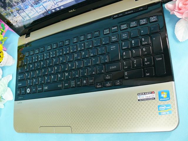 最落なし【快速】NEC Lavie LS550/HS★爆走mSATA SSD128G+HDD 1TB内蔵!高速Core i5-3210M◇メモリー8GB/Webカメラ☆Windows10_画像2