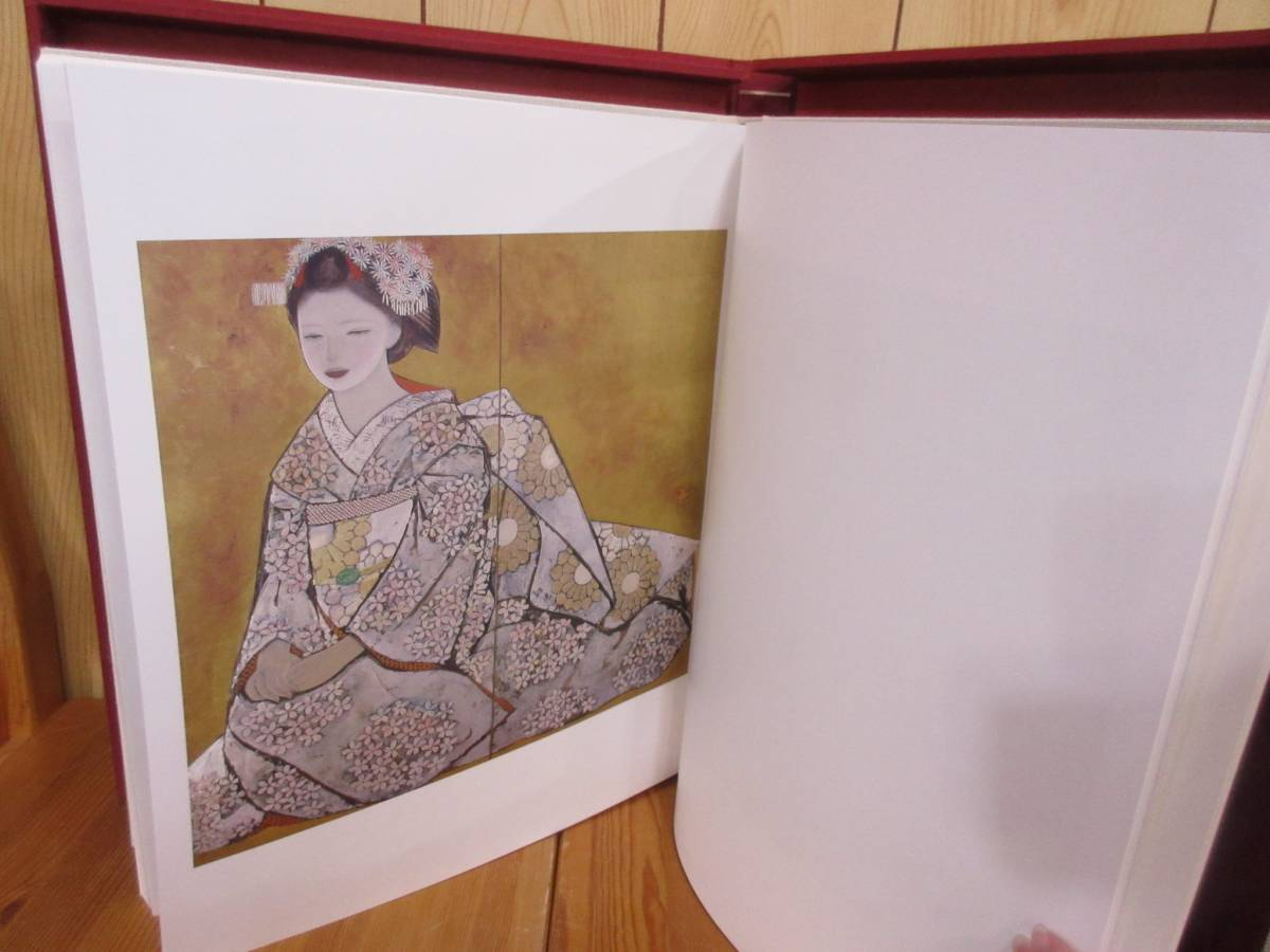 8610 限定版石本正自選画集 裸婦素描付 集英社 昭和55年_画像4