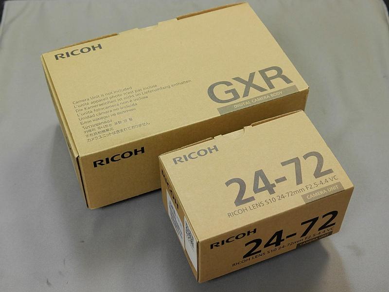 ■172後悔しないセットです!★極上美品★リコー GXR ボディ + S10  レンズセット ■