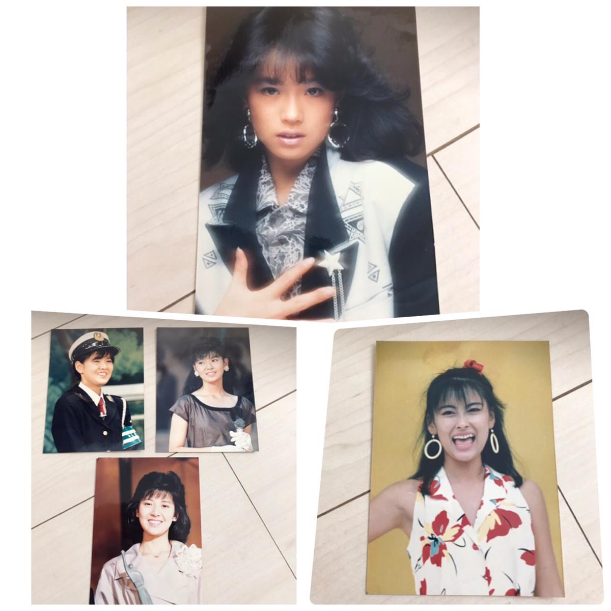 昭和アイドル 生写真 中森明菜 等 ライブグッズの画像