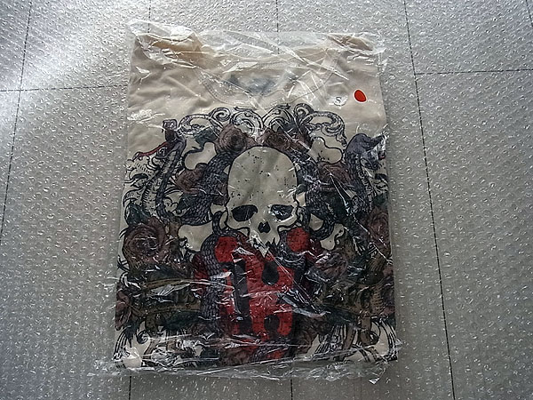 J3/VAMPS Tシャツ 2013 スカル オフホワイト Sサイズ 新品 /L'Arc-en-Ciel HYDE ラルクアンシエル