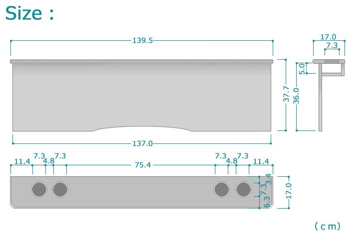 ラスト!【ハイアットSP】 トヨタ 200系 ハイエース 標準S-GL 1~4型 セカンドテーブル カーボン ドリンクホルダー4個_画像8