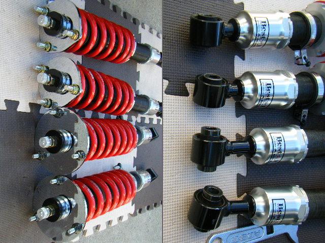 クラウン JZS17系 RS-R BEST-i 全長調整式(フルタップ)車高調 減衰力調整式_画像2