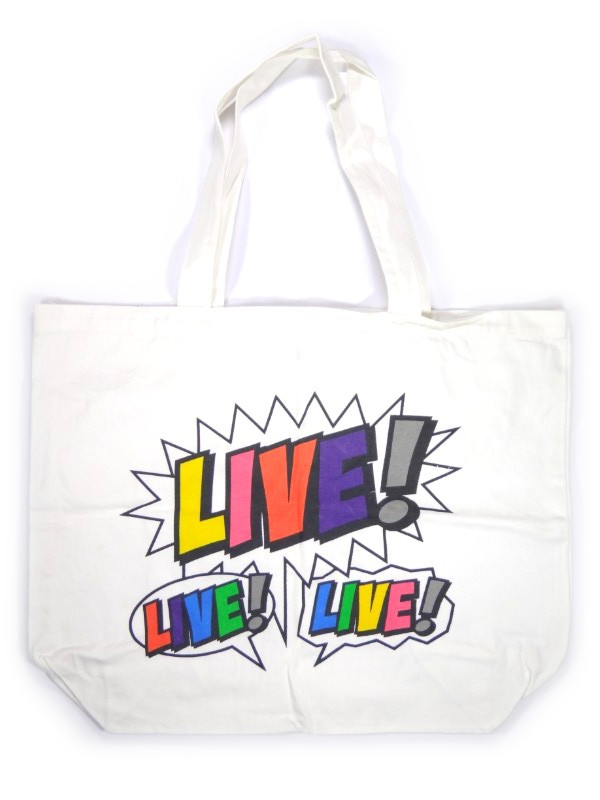 NEWS ショッピングバッグ LIVE! LIVE! LIVE! NEWS DOME PARTY 2010