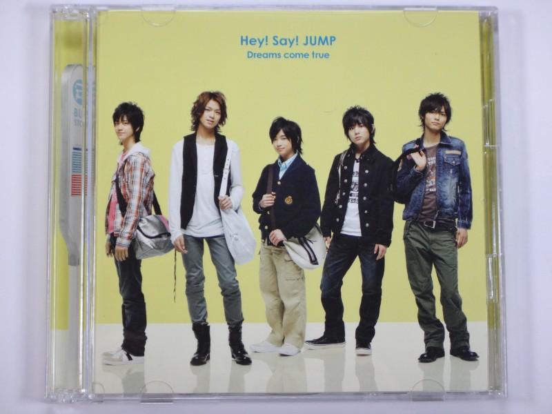 Hey!Say!JUMP CD Dreams come true 初回限定盤(CD+DVD)