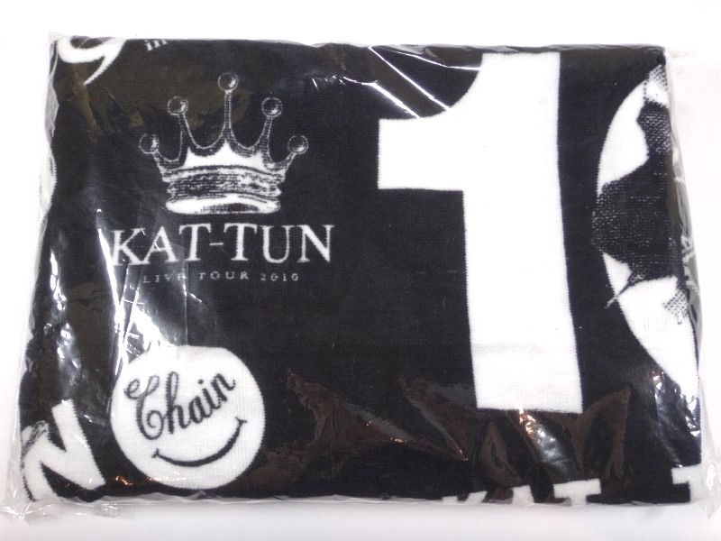 KAT-TUN バスタオル 10TH ANNIVERSARY LIVE TOUR 10Ks!