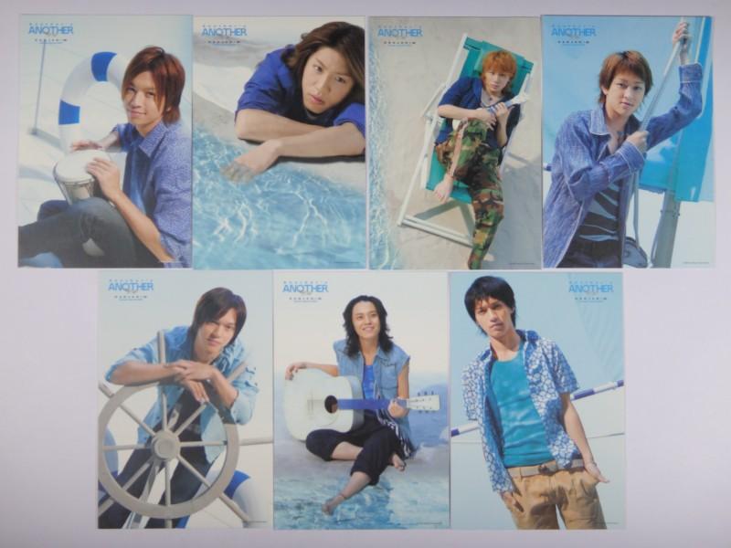 関ジャニ∞ ポストカードセット 7枚組 サマースペシャル 2006 Another's ANOTHER