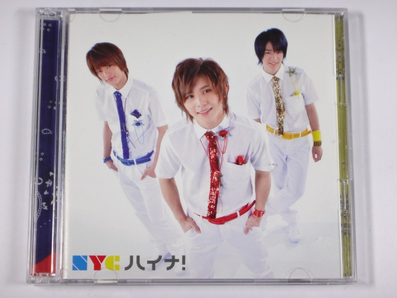 NYC CD ハイナ! 初回盤B(CD+DVD)