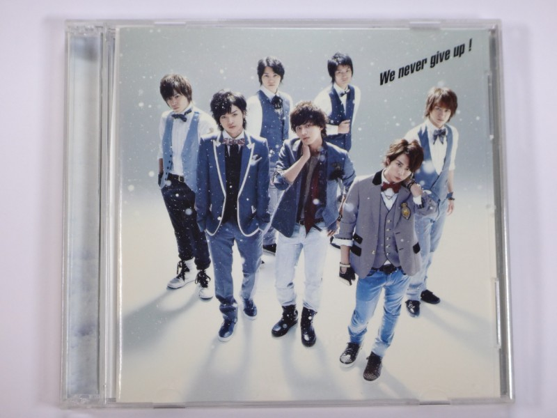 Kis-My-Ft2 CD We never give up! 初回生産限定(MUSIC VIDEO盤) (CD+DVD)