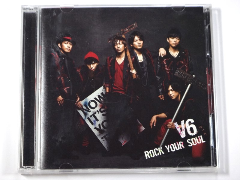 V6 CD ROCK YOUR SOUL 初回生産限定盤B(CD+DVD)
