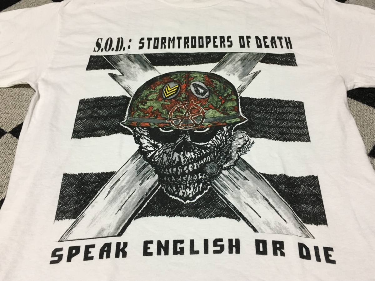 S.O.D / Tシャツ 検索 nyhc anthrax D.R.I クロスオーバー excel