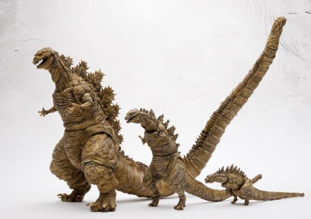【ゴジラストア限定】 S.H.MonsterArts ゴジラ(2016)第4形態 第3形態 第2形態 3体セット 【新品・未開封】モンスターアーツ シンゴジラ