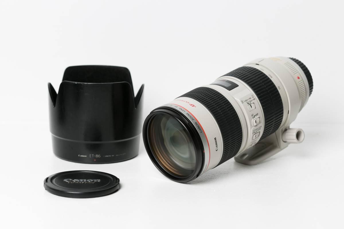 ☆☆送料無料☆☆ 【実用動作品】  Canon EF70-200mm F2.8L IS USM