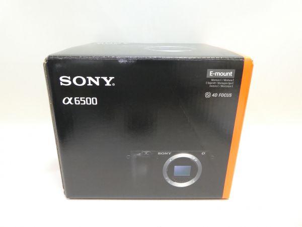1円~極美品 ソニー a6500 ボディ ミラーレス一眼 SONY ILCE-6500