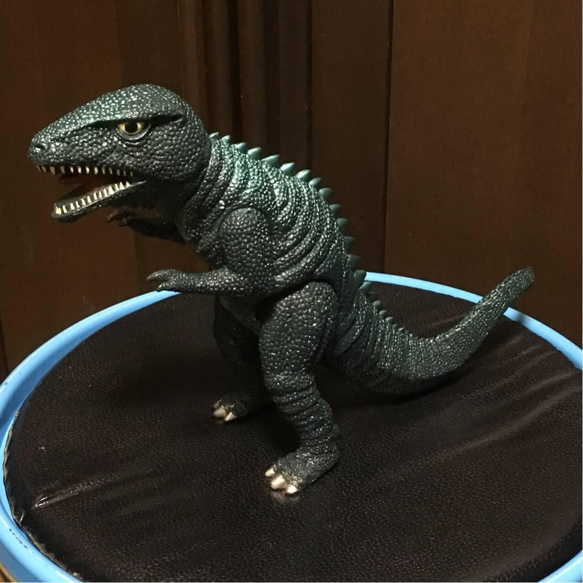 ★バンダイ ゴジラ 1993 ゴロザウルス ソフビフィギュア グッズの画像