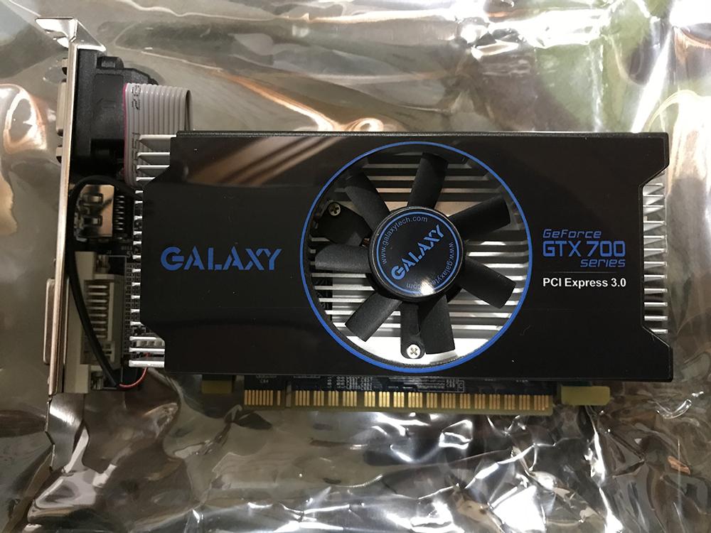 グラフィックボード GALAXY GeForce GTX700series PCI Express3.0 中古品 (送料無料)