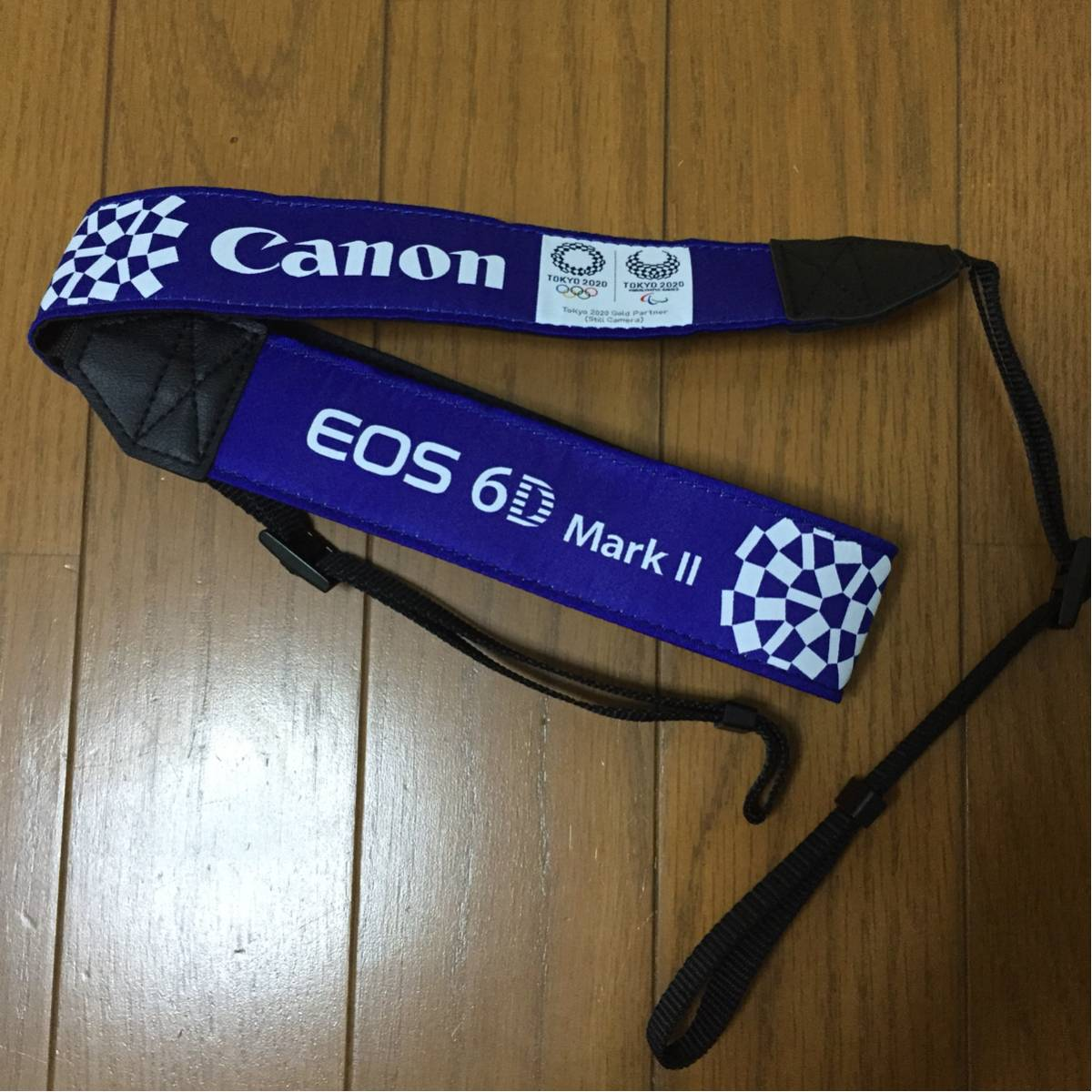 Canon EOS 6D markⅡ 発売記念ストラップ 非売品 限定 東京オリンピック2020 定形外送料無料