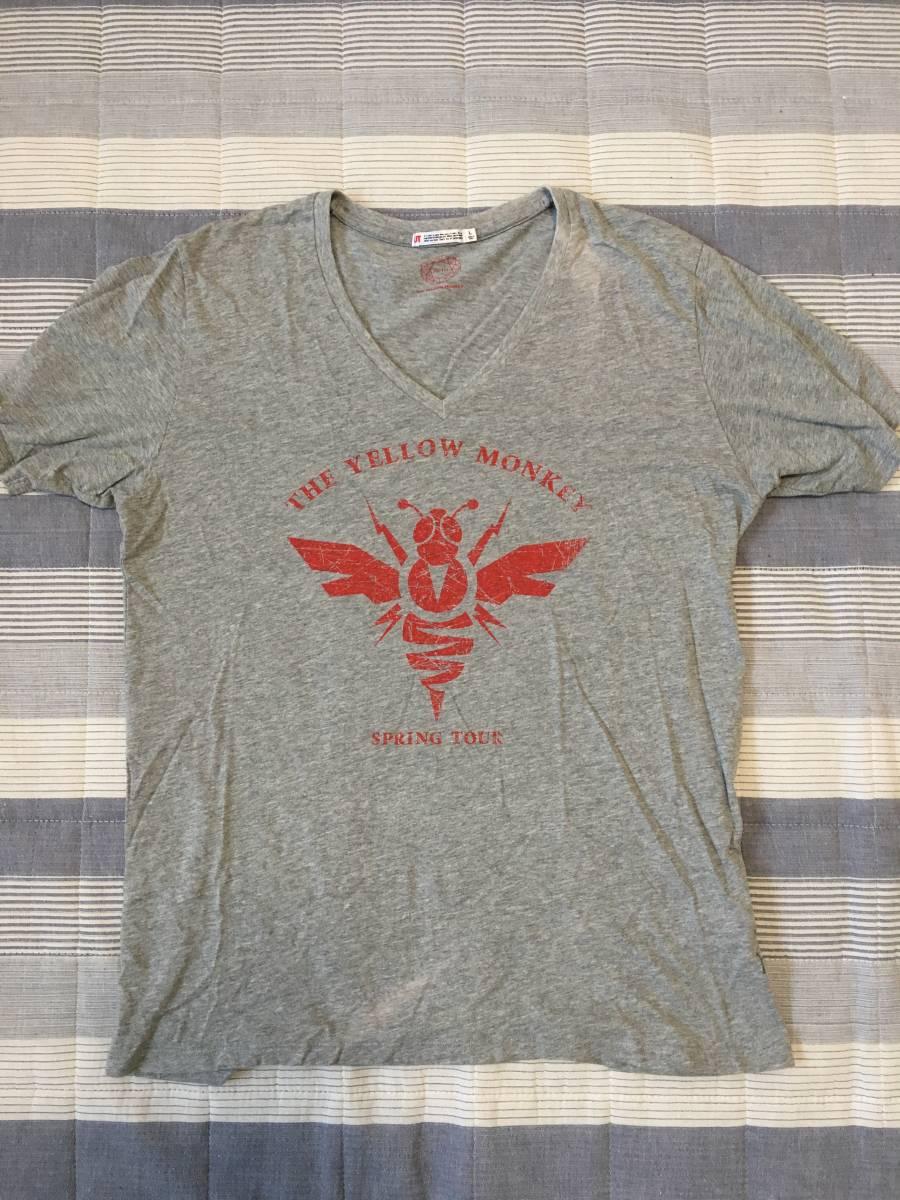 THE YELLOW MONKEY UT ユニクロ イエローモンキー イエモン Tシャツ 3枚セット Lサイズ ライブグッズの画像