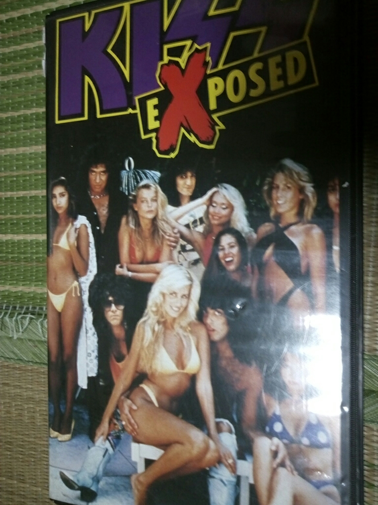 Хард-рок Kiss Exposed   VHS