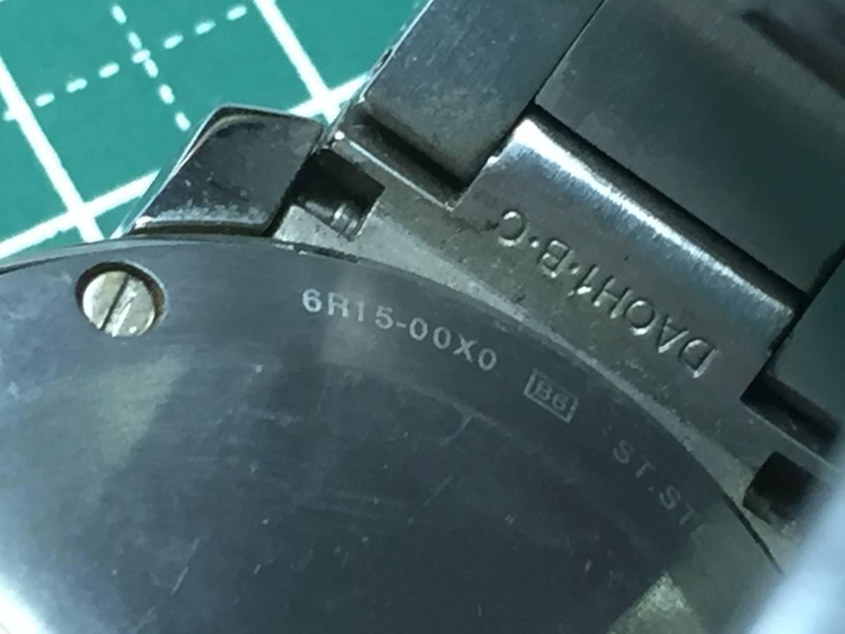 [自動巻き時計]SEIKO/セイコー 6R15-00X0ムービングデザイン メカニカルデジタル 傷多[中古ジャンク]_画像3