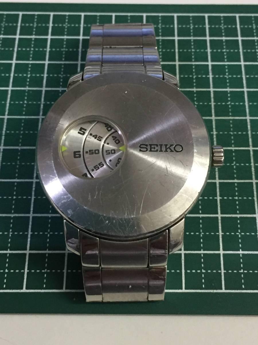 [自動巻き時計]SEIKO/セイコー 6R15-00X0ムービングデザイン メカニカルデジタル 傷多[中古ジャンク]