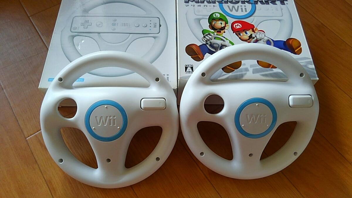 《USED》Wii マリオカート ハンドル セット