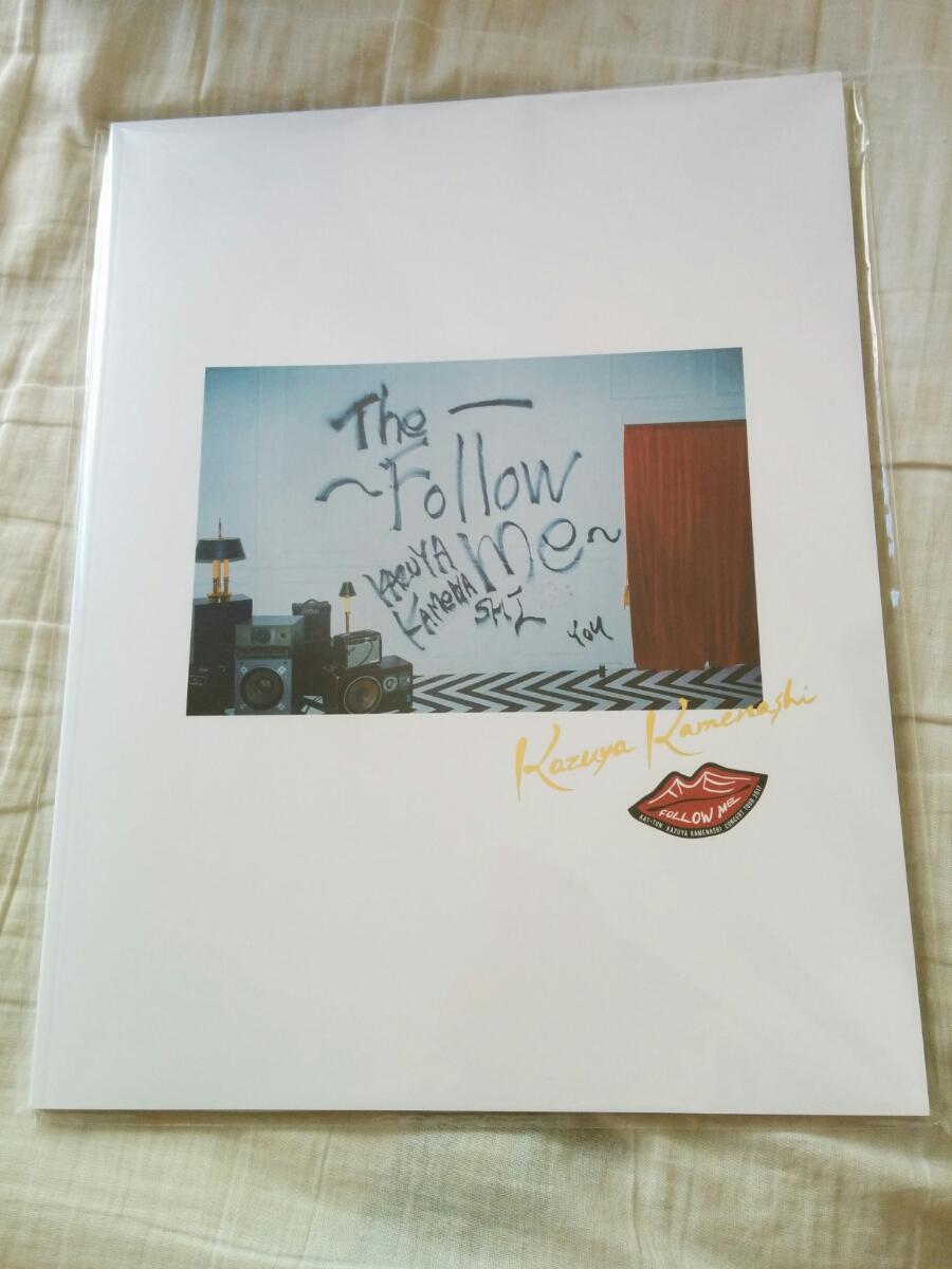 亀梨和也・パンフレット★新品★ The~Follow me~ ソロコン・即決