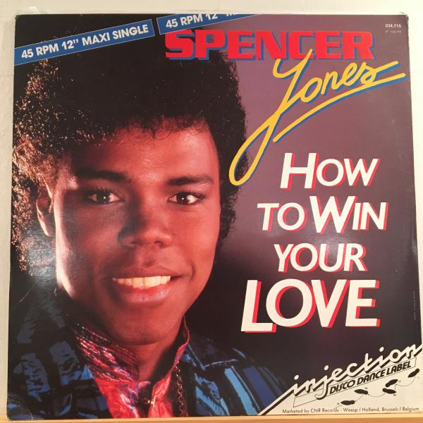 ☆Spencer Jones/How To Win Your Love☆メロウSYNTH BOOGIE!_画像1