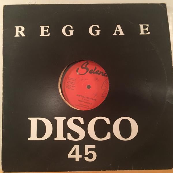 ★Teddy Lincoln/Don't Play With Fire★KILLER LOVERS DUB!DENNIS BOVELL_画像3