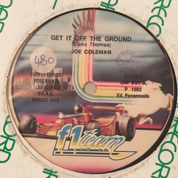☆Joe Coleman/Get It Off The Ground☆KILLER ITALO BOOGIE!_画像1