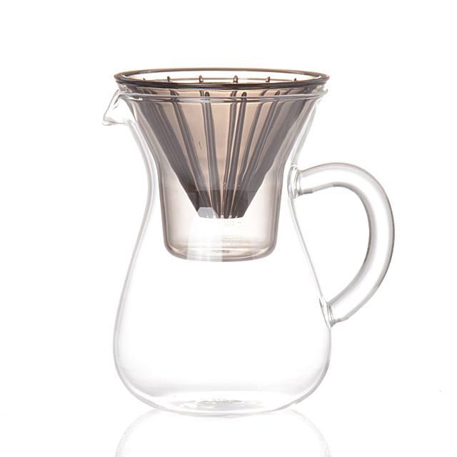 SLOW COFFEE STYLE コーヒーカラフェセット ステンレス 600ml_画像2