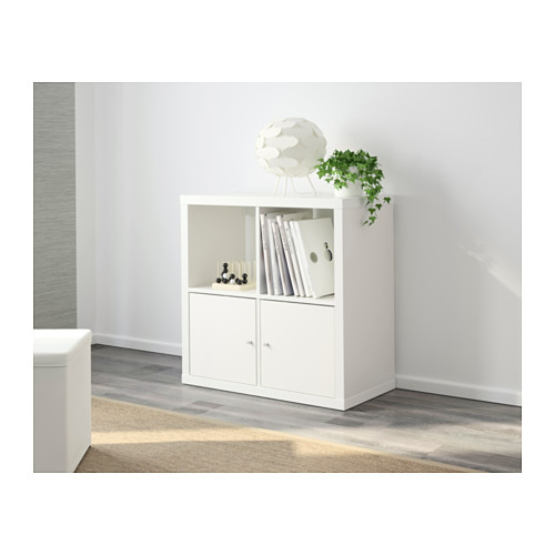 ☆ IKEA イケア ☆ KALLAX シェルフユニット, ホワイト 本棚 モダン おしゃれ <77x77 cm>u ☆_画像3