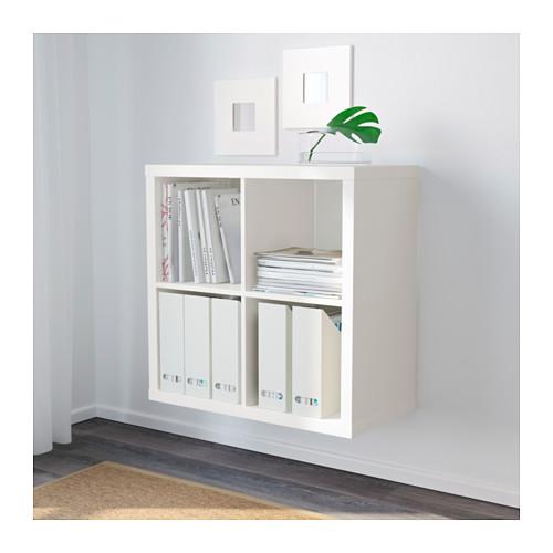 ☆ IKEA イケア ☆ KALLAX シェルフユニット, ホワイト 本棚 モダン おしゃれ <77x77 cm>u ☆_画像2
