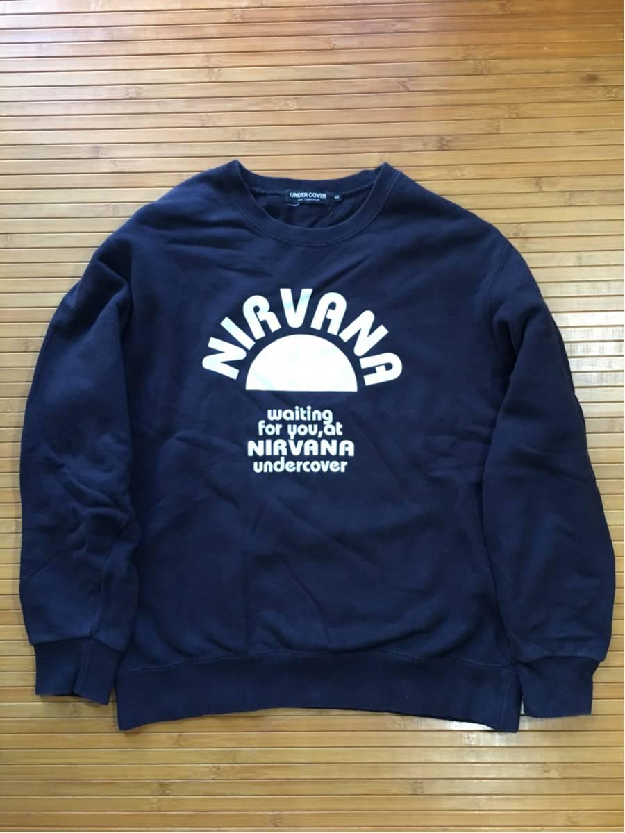 undercover NIRVANA スゥェット★navy s used