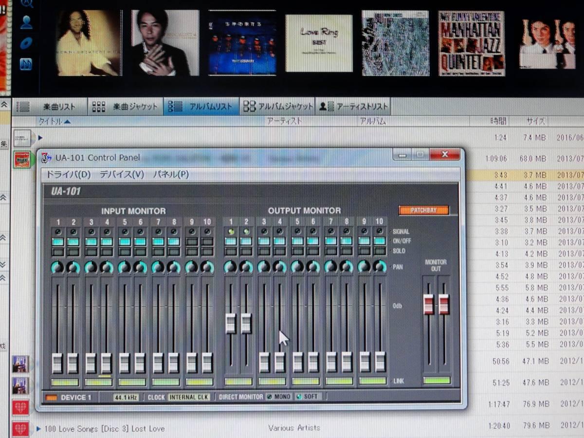 ■EDIROL Hi-SPEED USBオーディオインターフェース UA-101 良品_画像4