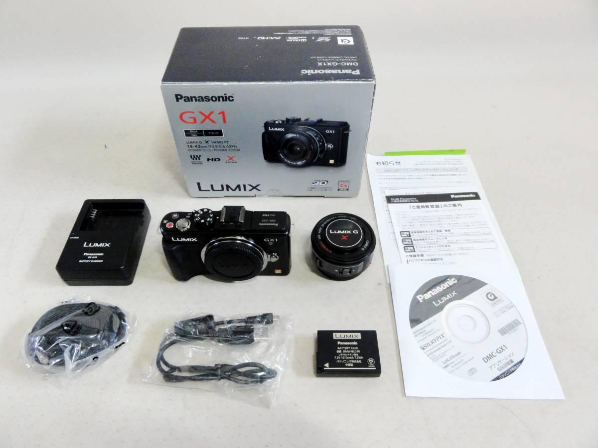 ■Panasonic LUMIX DMC-GX1X-K 14-42mmパワーズームキット 美品