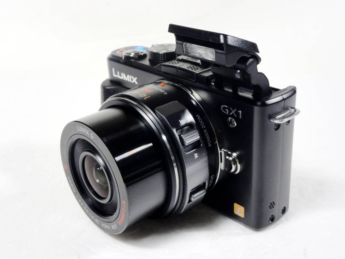 ■Panasonic LUMIX DMC-GX1X-K 14-42mmパワーズームキット 美品_画像3