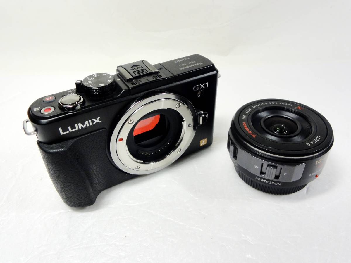 ■Panasonic LUMIX DMC-GX1X-K 14-42mmパワーズームキット 美品_画像2