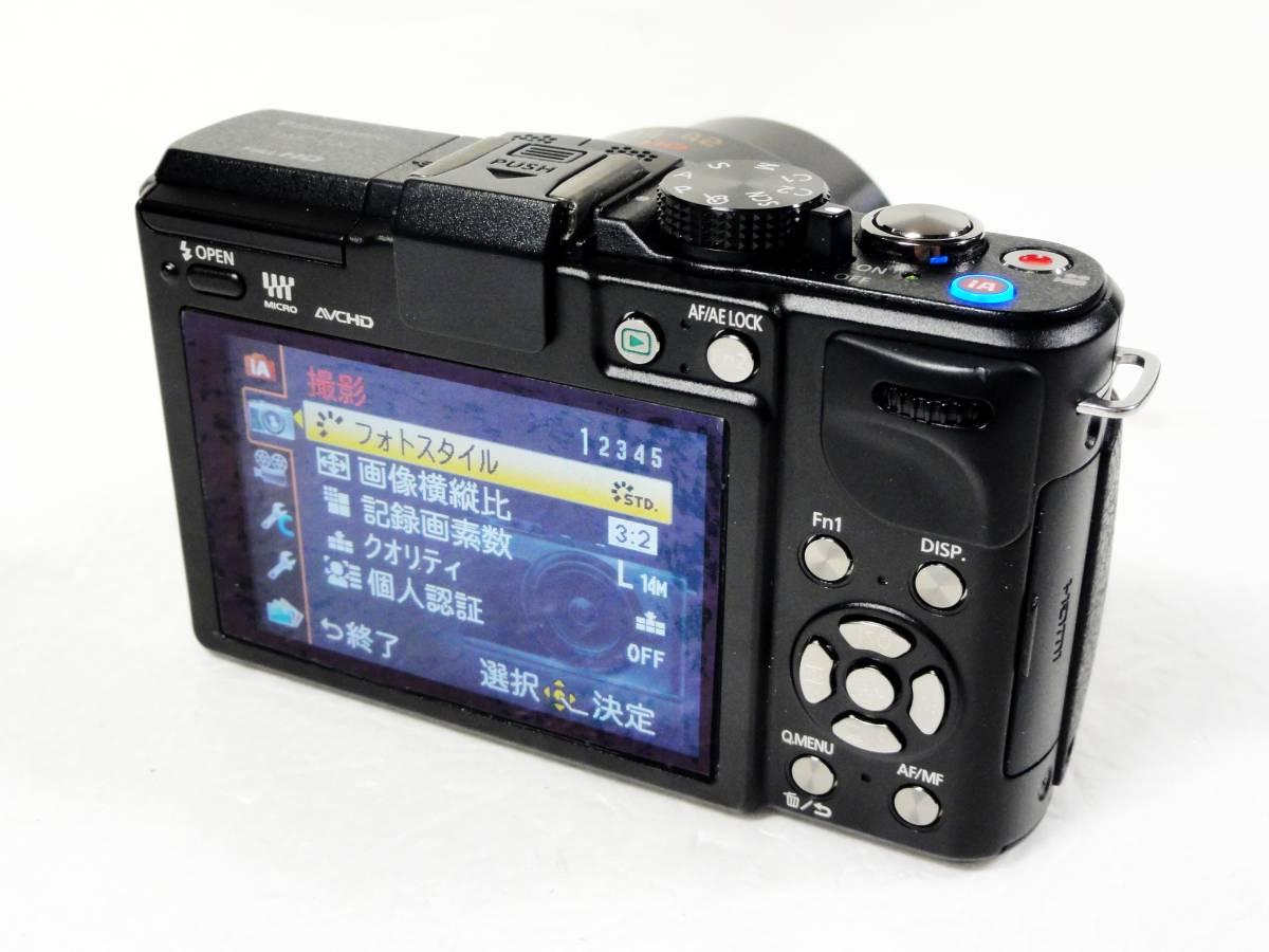 ■Panasonic LUMIX DMC-GX1X-K 14-42mmパワーズームキット 美品_画像4