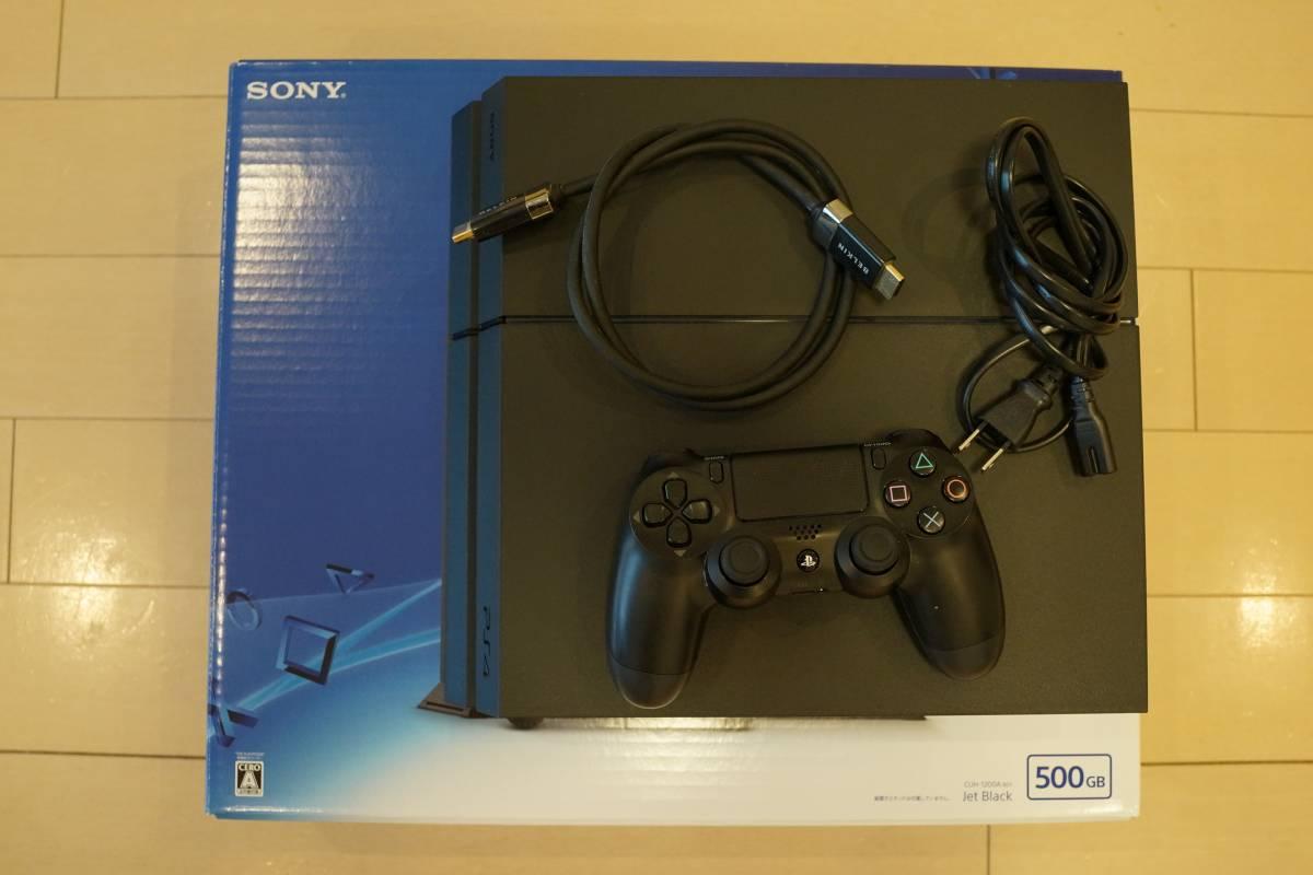 【美品売り切り】PS4 すぐ遊べるセット 本体 CUH-1200A 500GB 動作確認済み プレステ4 プレイステーション4 PlayStation4 格安スタート!!
